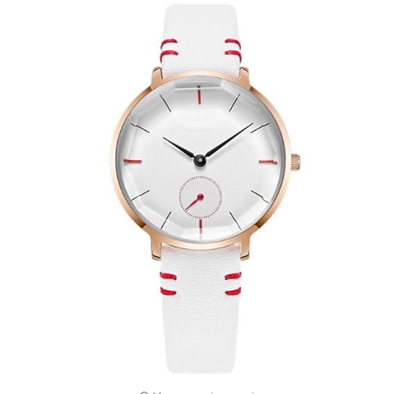 Reloj de pulsera para mujer 2018 con reloj de cuarzo impermeable, para mujer, color