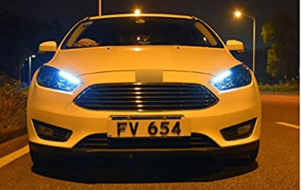 Amazon Com Gowe Car Styling For Ford Focus Headlights 2015 2018