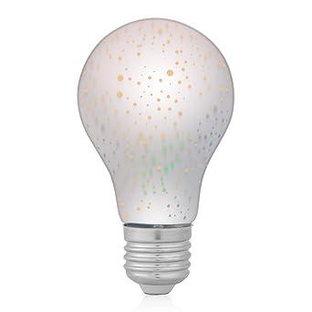 Bombilla LED de fuegos artificiales de colores 3D Bombillas decorativas de especialidad Bombilla de Edison de