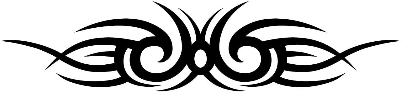 Kleb Drauf Tribal Verschiedene Größen Und Farben Autoaufkleber Autosticker Decal Aufkleber Sticker Auto Car Motorrad Fahrrad Roller Bike Deko Tuning Stickerbomb Styling Wrapping Auto