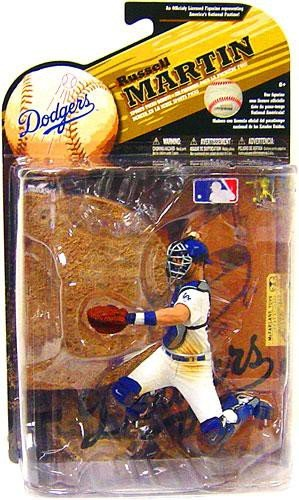 McFarlane Toys MLB Sports Picks Series 25 (2009 Wave 2) Action Figure Russell Martin (Los Angeles Dodgers) White Uniform