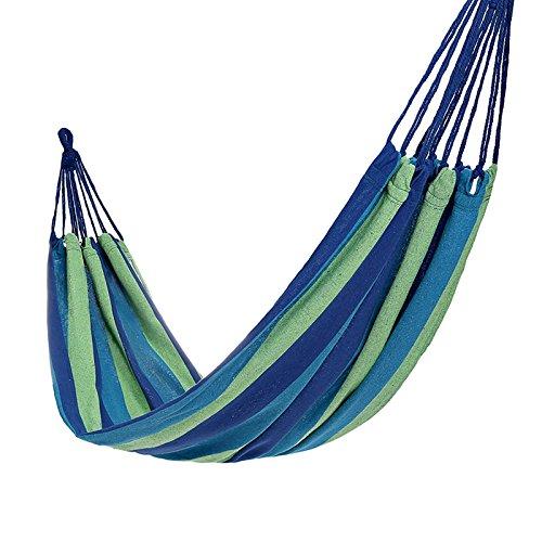 Huifang Brandine e amache QFFL diaochuang Hammock Parachute Cloth Outdoor Double Confortevole Camping Camping Leisure Hammock Travel Amaca per Il Tempo Libero (colore   A, Dimensioni   20  100cm)