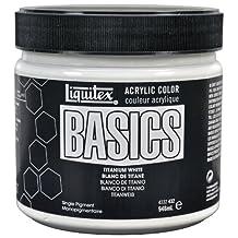 Liquitex Basics Acrylic Paint 946 ml, Titanium White