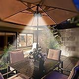 LATME Patio Umbrella Lights Pole Light for