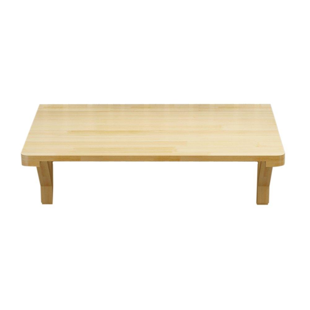 折り畳みテーブル& 壁掛けテーブル、ダイニングテーブルデスク、パインウッド壁掛けバーテーブル (サイズ さいず : 100*60cm) B07F1NT4R1100*60cm
