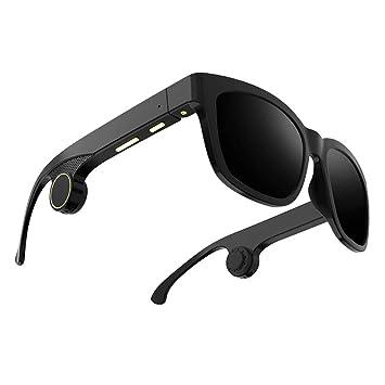 Auriculares Bluetooth, Jessboyy_ Conducción ósea Gafas ...