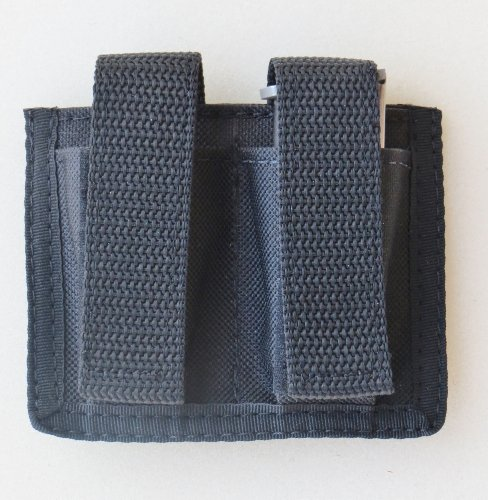 Federal Double Magazine Pouch for Sig Sauer P238, Taurus TCP, AMT 380 Backup (Extended Magazine For Sig P238)