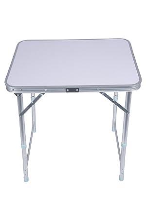 Mountain Warehouse Table Pliante Table Légère En Plastique Durable