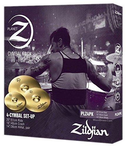 Zildjian Planet Z 4 Cymbal Set (14'' pr, 16'', 20'') by Avedis Zildjian Company (Image #1)