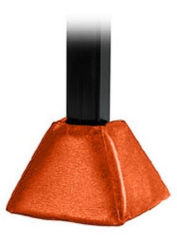 First Team FT74 Foam-Vinyl Gusset Pad for 4 & 5 in. Crank Adjust Base Only, Orange B0042W081S