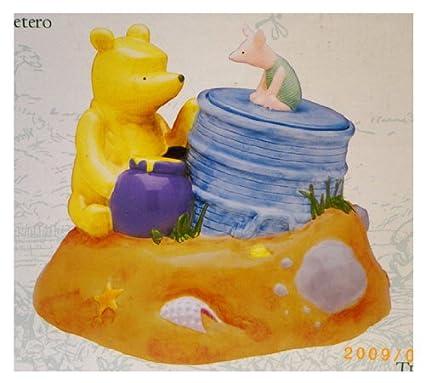 Disney Cookie Jars Amazon Com >> Amazon Com Winnie The Pooh Cookie Jar Disney Cookie Jar Toys Games