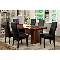 Furniture of America Kona 7-Piece Contemporary Dining Set
