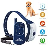 Remote Electronic Dog Collar Training Collars with Beep Vibrating Electric 1-8 level Shock Collar for Medium Large Dogs Rechargeable Waterproof Design Indoor and Outdoor