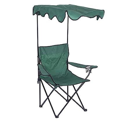 DOKJ Silla de Camping Plegable, Tela Oxford Ultraligera con ...