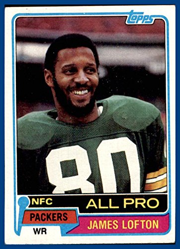 1981 Topps #430 James Lofton GREEN BAY PACKERS