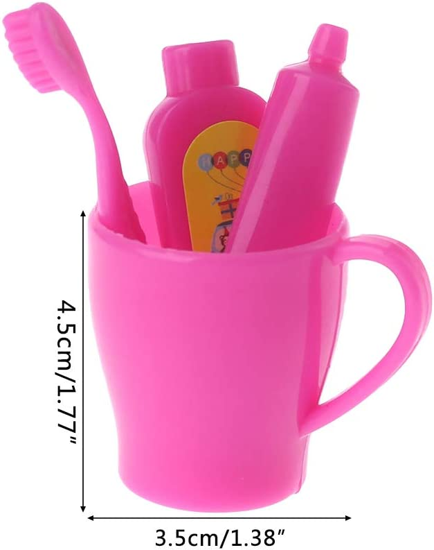 Toothbrush Paste Cup Dental 18 in Doll Clothes Fits American Girl BR