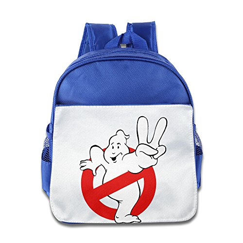 XJBD Custom Superb Ghostbusters Yes Gesture Boys And Girls School Bagpack Bag For 1-6 Years Old RoyalBlue]()