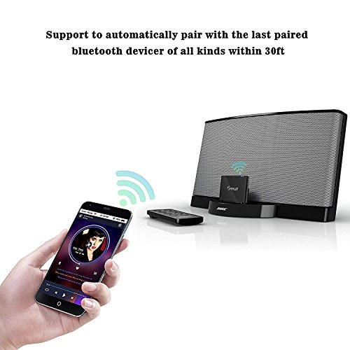 Bluetooth Music Receiver Audio Adapter for Bose SoundDock