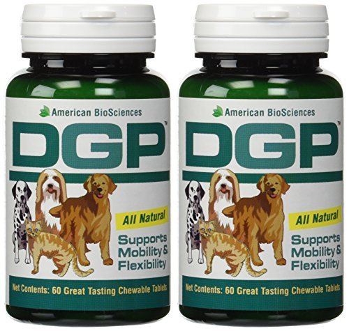 60 Tablets Science (American Biosciences DGP (Dog Gone Pain) 60 Tablets - 2 Pack by American BioScience)