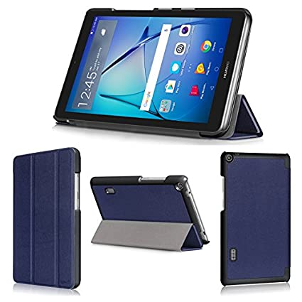 cheap for discount d00cf 0fe16 Amazon.com: wisers Huawei MediaPad T3 7 7-inch Tablet Case/Cover ...