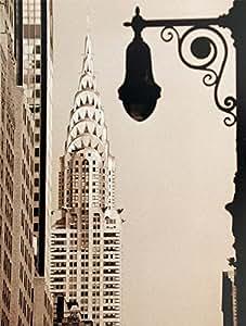"Office Decor Inspirational Poster ""Chrysler Building"" New York, USA Wall Art Decoration Print (11.75""x15.75"")"
