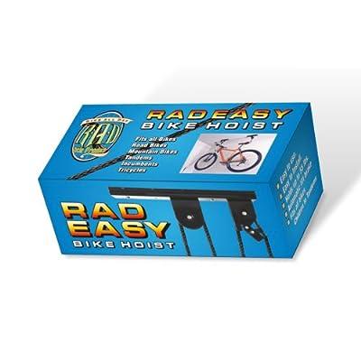 2005 RAD Cycle Products Heavy Duty Bike Lift Hoist For Garage Storage 100lb Capacity Mountain Bicycle Hoist