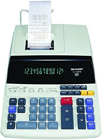 [Sponsored] Sharp EL-1197PIII Heavy Duty Color Printing Calculator with Clock and Calendar