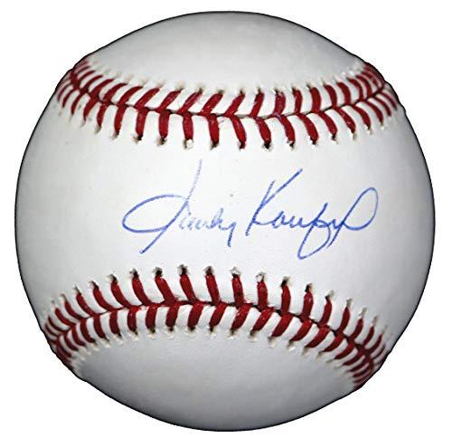 (Sandy Koufax Los Angeles Dodgers Autographed Rawlings Official Major League Baseball Sweet Spot LOA COA)