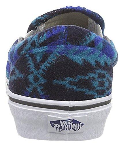 Vans Classic, Damen Sneaker, Blau - Blau - Größe: EU 37 (US 5.5)