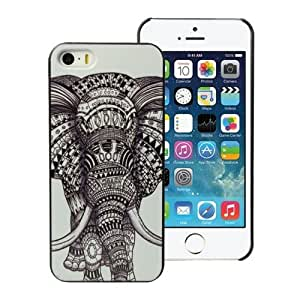 amtonseeshop New Fashion Hot Variou Painted Pattern Phone Hard Back Case For Ipod Touch 4 Cover (Elephant)