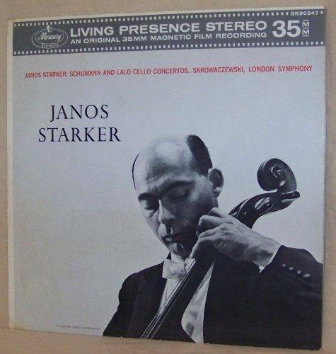 Janos Starker: Schumann and Lalo Cello Concertos