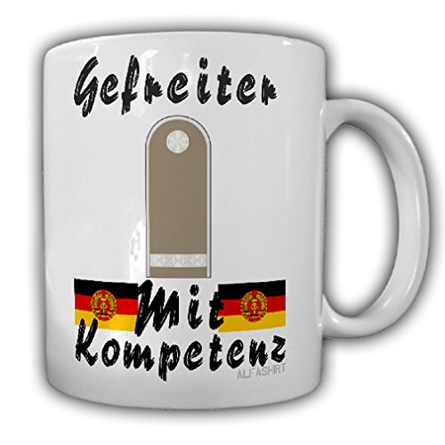 Reconnaissance Units - Corporal of the reconnaissance unit NVA National People's Army Ground Forces DDR Army - Coffee Cup Mug