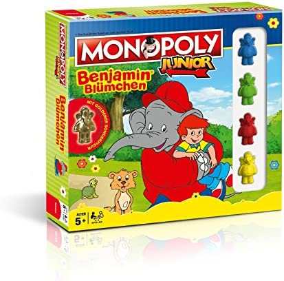 Monopoly Junior Benjamin Blümchen Collectors Edition: Amazon.es: Juguetes y juegos