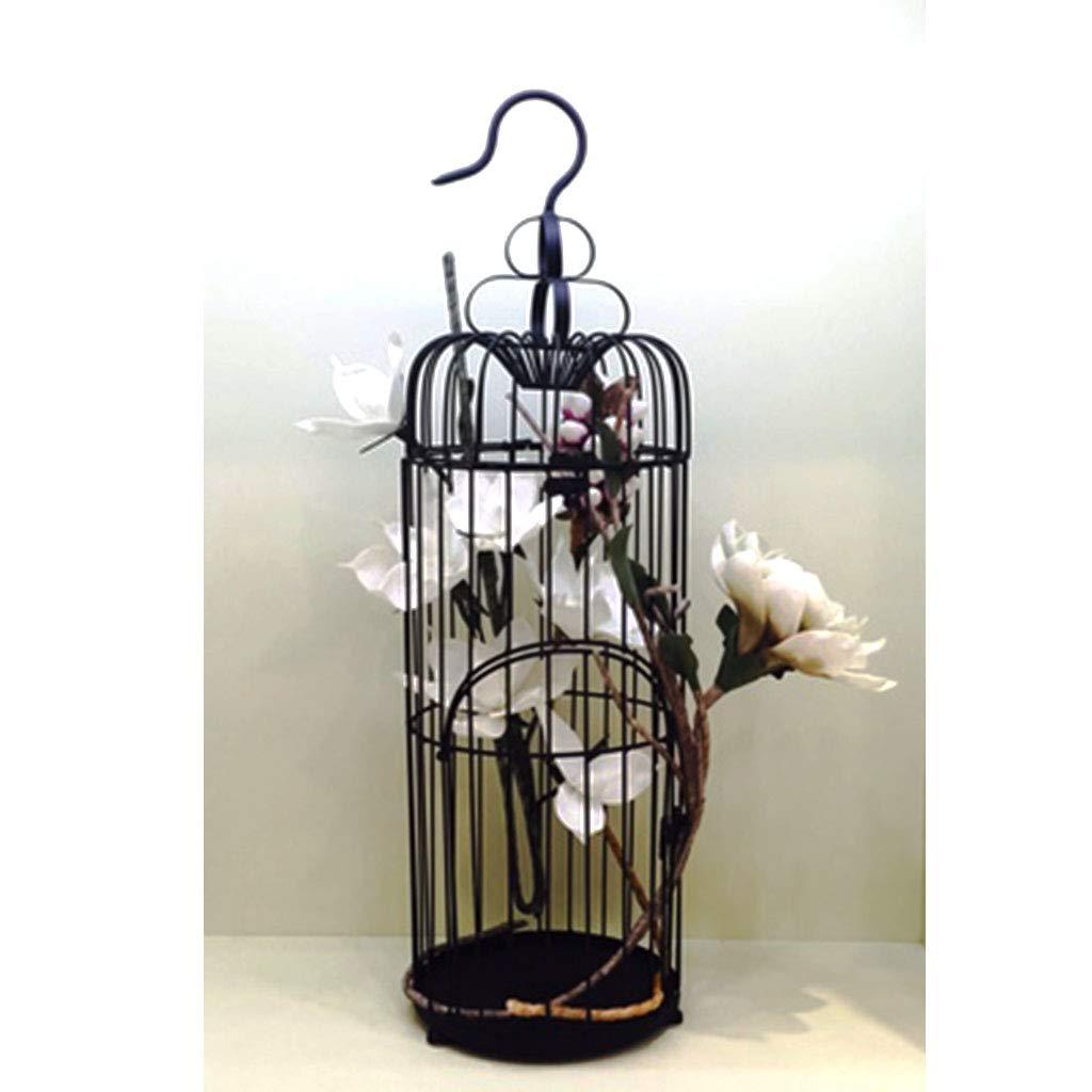 jaula Decoración pájaros de Hierro Forjado Vintage, escaparate ...