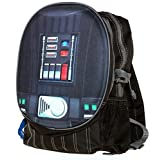 Disney Star Wars Darth Vader Chest Design Pop-Out Dual Compartment Backpack