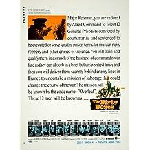 1967 Ad Movie The Dirty Dozen WWII Robert Aldrich Lee Marvin Charles Bronson MGM - Original Print Ad