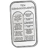 1 oz. Silver Ten Commandments Bar