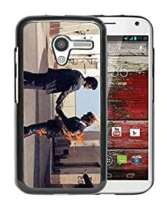Fashionable Custom Designed Cover Case For Motorola Moto X With Pink Floyd 2 Black Phone Case