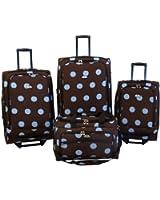 American Flyer Luggage Grande Dots 4 Piece Set