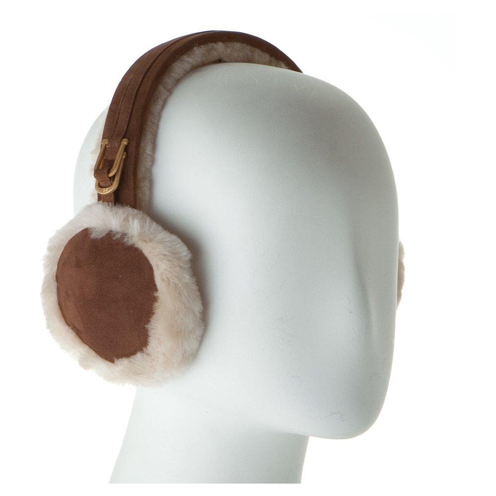 (アグ) UGG DOUBLE 'U' LOGO SHEEPSKIN EARMUFF シープスキン イヤーマフ MODEL. 5801 (U1023) イヤマフ 耳あて CHESTNUT チェスナット B001PHPQVU