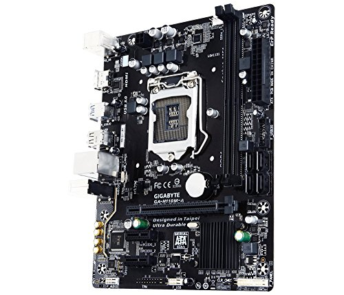 Gigabyte GA-H110M-A LGA1151 Intel H110 Micro ATX DDR4 ...