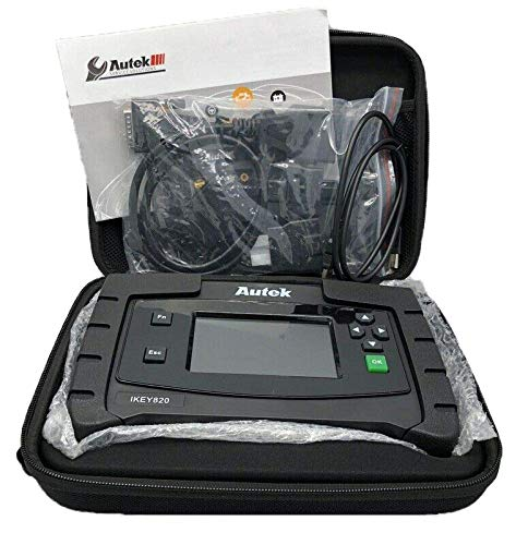 Autek iKey820 - Automotive Key Programmer (Black) (Best Automotive Key Programmer)