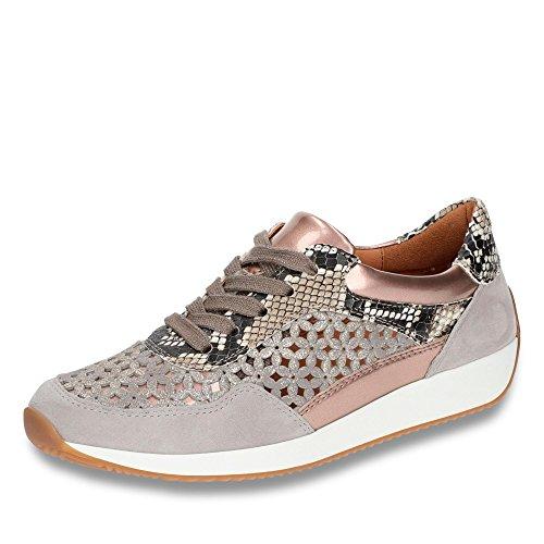 Grigio 12 Lissabon donna 34020 Sneaker Ara FxvXwv