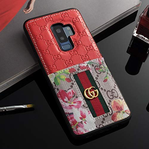 Galaxy S10 Plus Case- US Fast Deliver Guarantee FBA- Elegant Luxury PU Leather Designer Case with Card Holder Slot Cover for Galaxy S10 Plus by CCASEMALL
