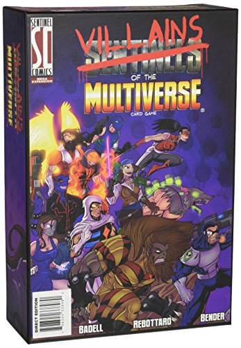 Greater Than Games Sentinels of The Multiverse: Villains of The Multiverse Board Game]()