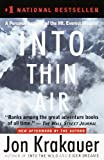 img - for Into Thin Air (Turtleback School & Library Binding Edition) book / textbook / text book