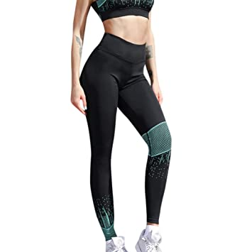 Pantalones de Mujer SUNNSEAN Leggins de Mujer Pantalon Largo ...