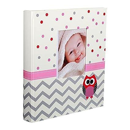 Álbum de fotos (60 páginas blancas nacimiento Bravo Color Rosa ...