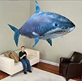 Flying Shark Air Swimmers Best Deals - LB Air Swimmers Inflatable Flying White Shark Remote Control