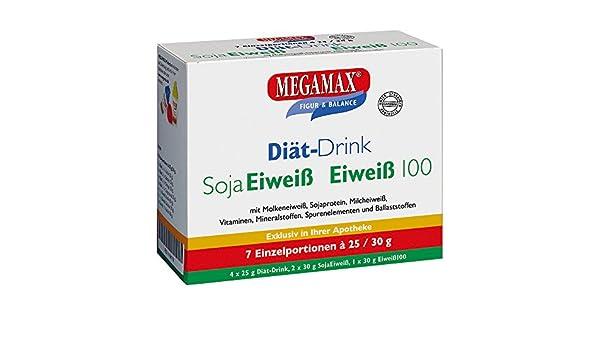 MEGAMAX - Diät-Drink - Kit para principiantes - Bebida en polvo para adelgazar y perder grasa - 7 x 25g/30g: Amazon.es: Deportes y aire libre